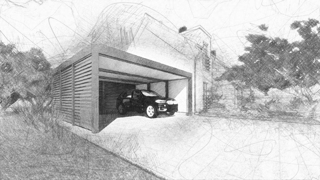 Tantaris - Carport Zeichnung